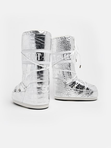 reputable site 51117 40776 SILVER MOONBOOTS