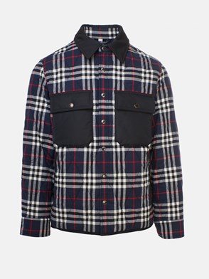 BURBERRY - CAMICIA BILLINGTON CHECK BLU