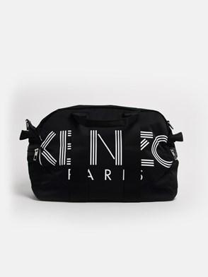 KENZO - BLACK DUFFLE BAG