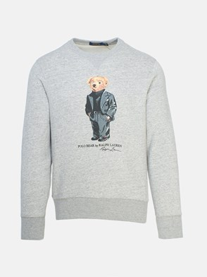 POLO RALPH LAUREN - GREY TEDDY BEAR SWEATSHIRT