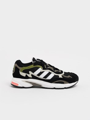 ADIDAS ORIGINALS - BLACK TEMPER RUN SNEAKERS