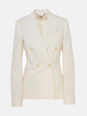 STELLA McCARTNEY - BLAZER BEAUFORT AVORIO