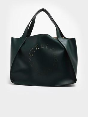 STELLA McCARTNEY - GREEN TOTE BAG