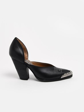 GOLDEN GOOSE DELUXE BRAND - BLACK MARFA PUMPS