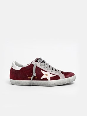 GOLDEN GOOSE DELUXE BRAND - SNEAKER SUPERSTAR BORDEAUX