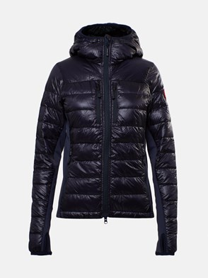 CANADA GOOSE - BLUE LADIES HYBRIDGE LITE JACKET