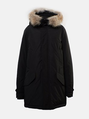 WOOLRICH - BLACK POLAR JACKET