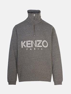 KENZO - FELPA GRIGIA