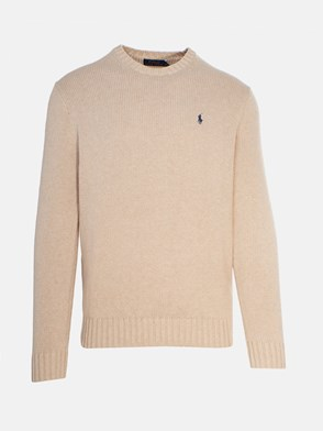 POLO RALPH LAUREN - CREAM SWEATER