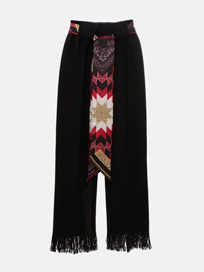 ALANUI - BLACK EMBASSY PANTS