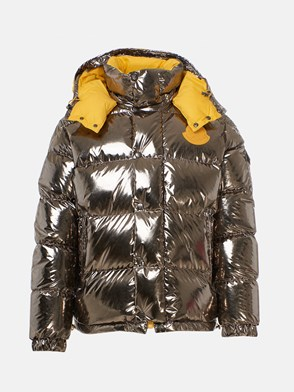 MONCLER GENIUS 1952 - SILVER AND YELLOW PRELE DOWN JACKET