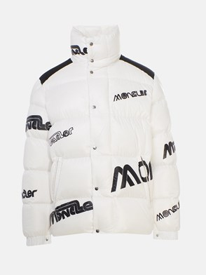 MONCLER GENIUS 1952 - BLACK AND WHITE MARE DOWN JACKET
