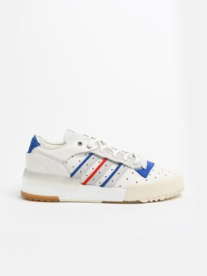ADIDAS ORIGINALS - WHITE RIVALRY SNEAKERS