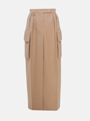MAX MARA - GONNA UDENTE BEIGE
