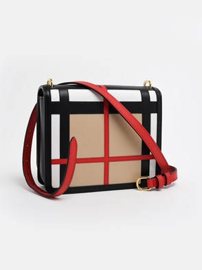 BURBERRY - MULTICOLOR D-RING BAG