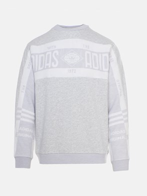 ADIDAS ORIGINALS - GREY CREW REAL SCARF SWEATSHIRT