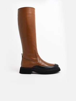 TOD'S - BROWN BOOTS