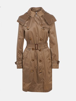 BURBERRY - GOLD KENSINGTON TRENCH COAT