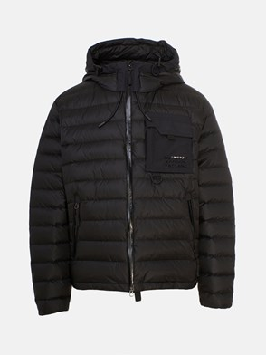 BURBERRY - BLACK CRESLOW DOWN JACKET