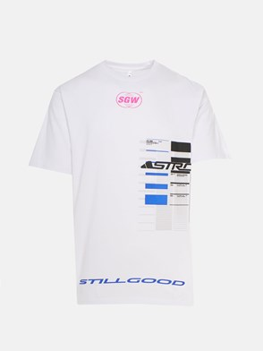 STILL GOOD - T-SHIRT ASTRO BIANCA