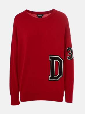 DKNY - RED SWEATER