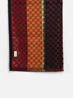 GUCCI - MULTICOLORED GG SCARF