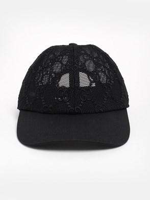 GUCCI - BLACK GG HAT