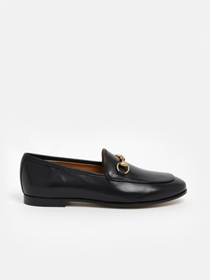 GUCCI - BLACK JORDAN LOAFERS