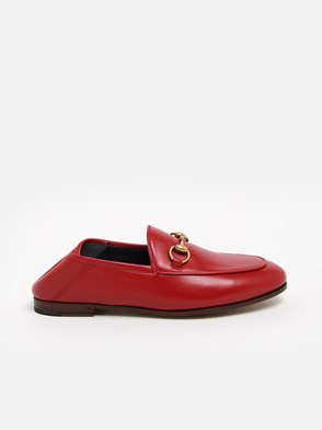 GUCCI - RED HORSEBIT LOAFERS