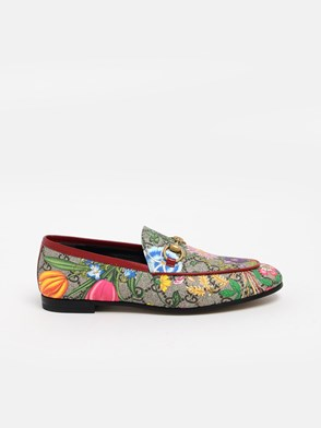 GUCCI - FLORA GG SUPREME LOAFERS
