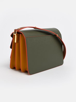 MARNI - BROWN AND GREEN TRUNK BAG