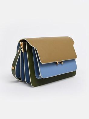 MARNI - LIGHT BLUE AND GREEN TRUNK BAG