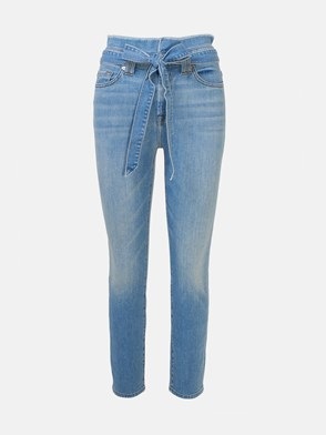 7 FOR ALL MANKIND - LIGHT BLUE JEANS