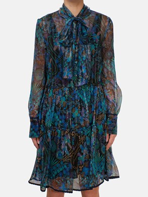 SEE BY CHLOE' - MULTICOLOR FLORAL DRESS