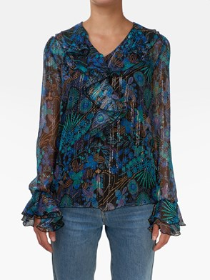SEE BY CHLOE' - MULTICOLOR FLORAL SHIRT