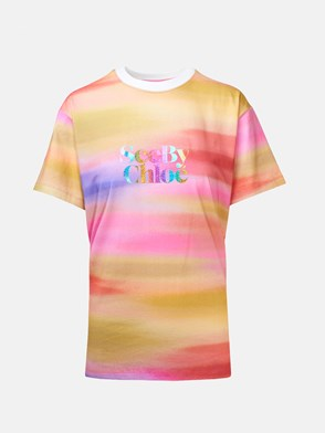 SEE BY CHLOE' - T-SHIRT MULTICOLOR