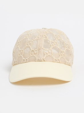 GUCCI - IVORY GG HAT