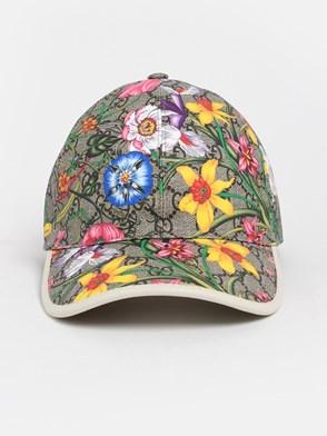GUCCI - GG SUPREME FLORA HAT
