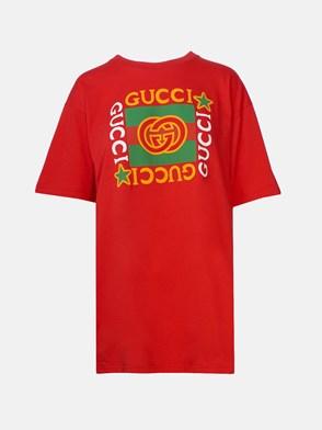GUCCI - T-SHIRT ROSSA