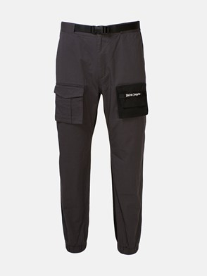 PALM ANGELS - GREY AND BLACK PANTS