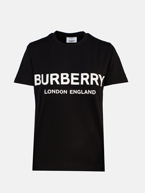 BURBERRY - BLACK T-SHIRT