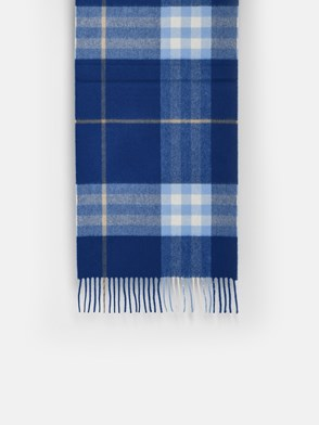 BURBERRY - SCIARPA CHECK BLU