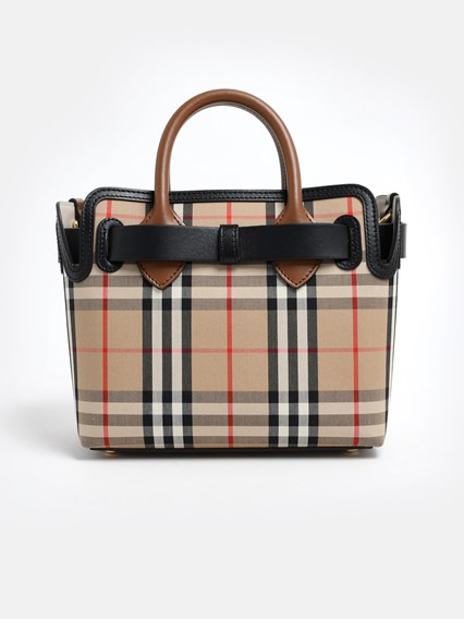 BURBERRY BEIGE CHECK BAG