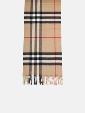BURBERRY - SCIARPA CHECK NERO