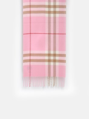 BURBERRY - SCIARPA CHECK ROSA