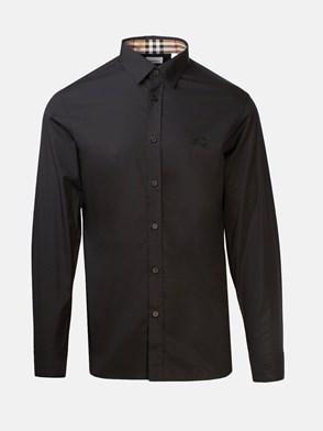 BURBERRY - BLACK SHIRT