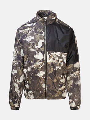 MARCELO BURLON COUNTY OF MILAN - BLACK AND CAMOUFLAGE JACKET