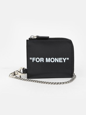 OFF WHITE c/o VIRGIL ABLOH - BLACK WALLET