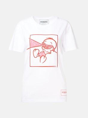 ICEBERG - WHITE T-SHIRT