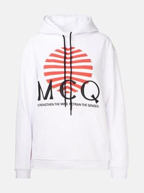 McQ BY ALEXANDER MCQUEEN - WHITE SWEATSHIRT